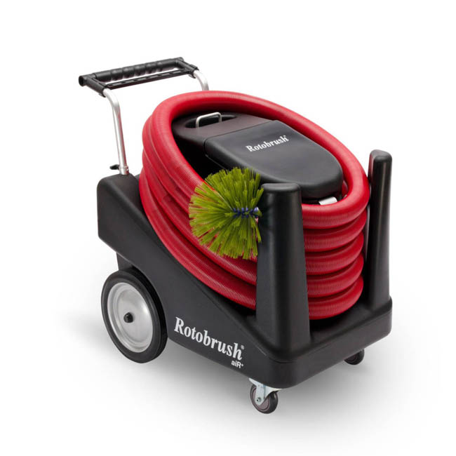 Trust your air duct cleaning to portable machines with proven results!